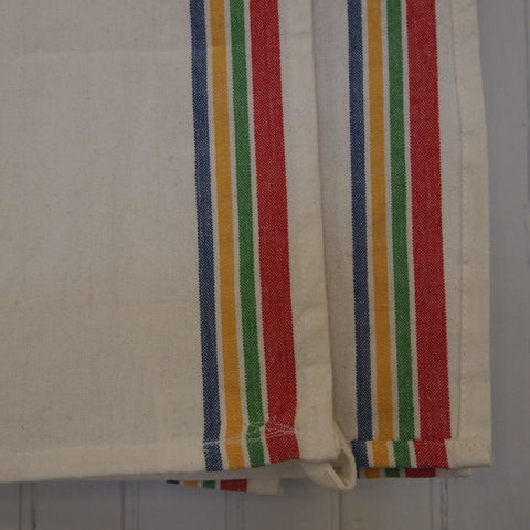 Vintage Striped Kitchen Towel