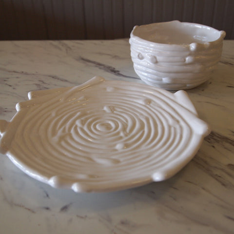 Nest Ceramic Bowls and Plates