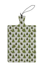 Trees Ceramic Serving Board