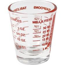 Shot Glass Mini Measure