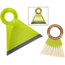 Tiny Team dustpan and brush set