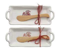 Squirrel Tray & Spreader set