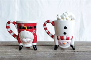 Upside Down X-mas Mugs