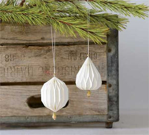 Paper Pleated Ornament