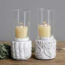 Cement Base Votive Holder
