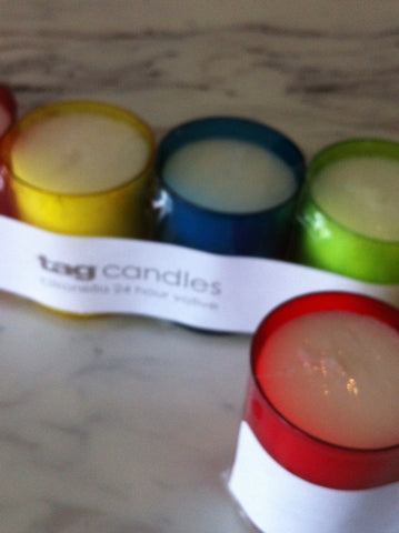 Citronella Colored Candles