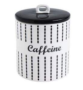 Caffeine Coffee Canister