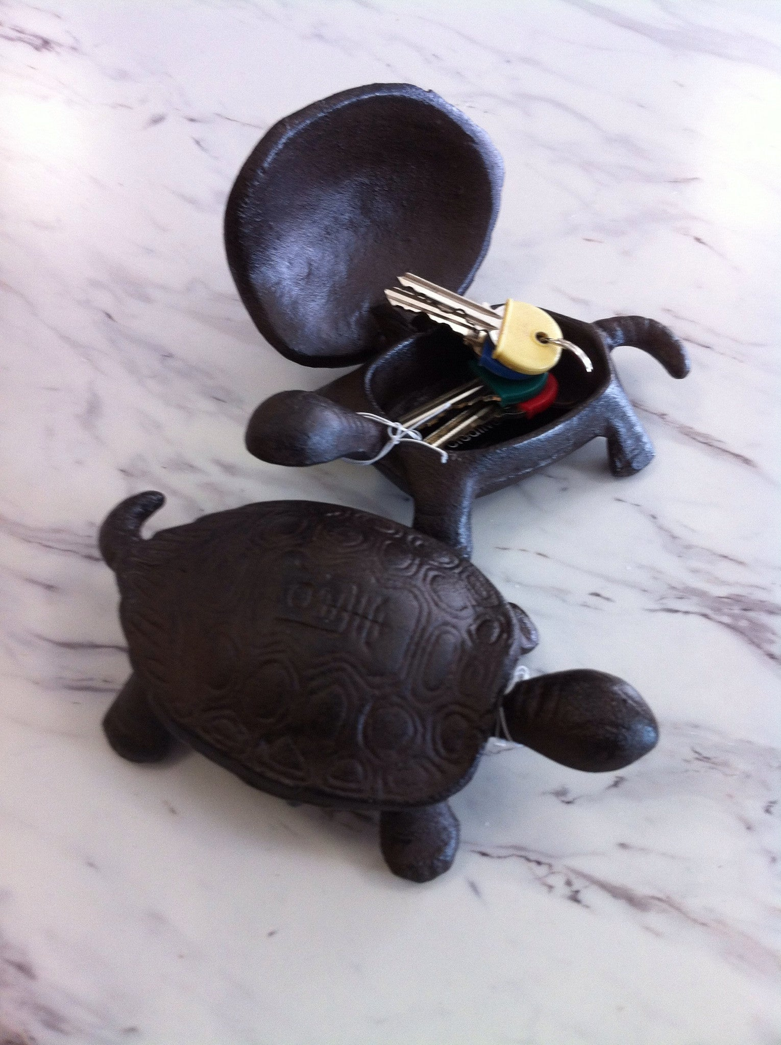 Turtle Cast Iron Key Keeper