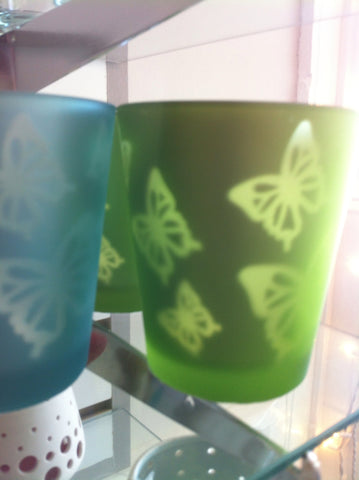 Butterfly Votive Holder