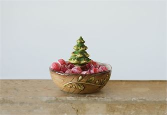 Christmas Tree Bowl