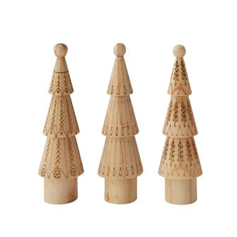 CC Wooden Trees and Ornaments