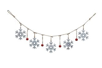 Tin Christmas Garland