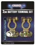 Brass Saddle Type Battery Terminal 2pc