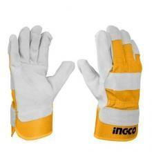 Heat Resistant Leather Gloves Ingco