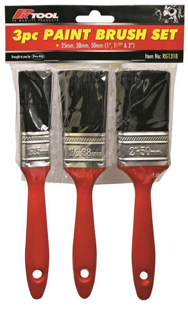 Paint Brush 3 Pieces Set