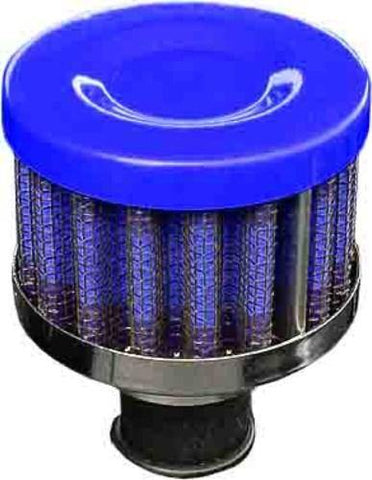 Performance Breather Oil Filter Blue 12mm
