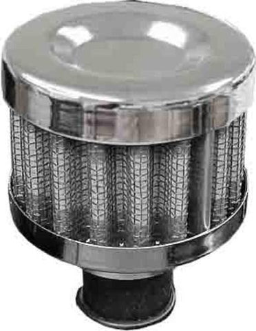 Performance Breather Oil Filter Chrome 12mm