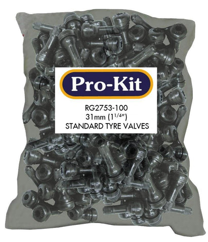 Snap-In Tubeless Suit Cars Tyre Valves 100pc