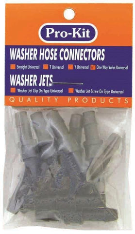 Straight Universal Washer Hose Connector 10 Piece Set