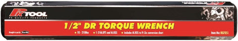 1/2-Inch Drive Torque Wrench with Case
