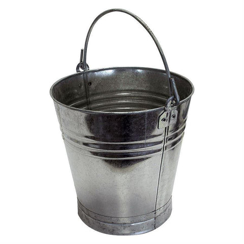 Galvanised Bucket 15L