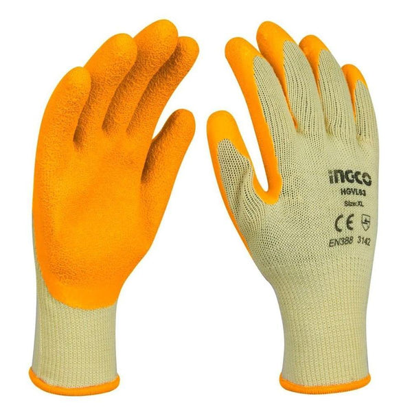 Ingco Latex Gloves XL - 1 Pair