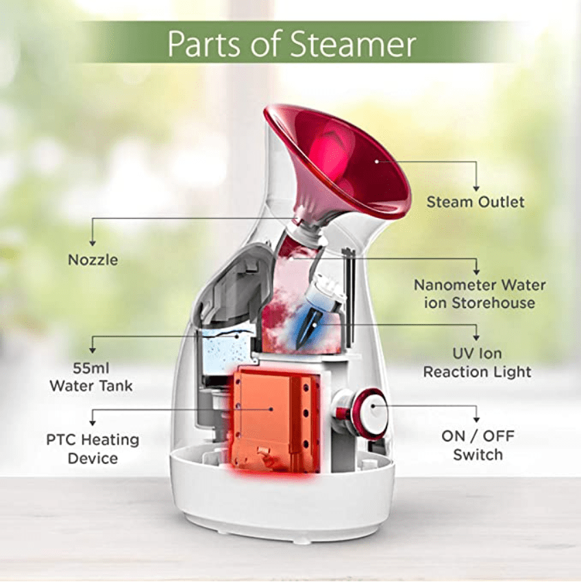 3 in 1 Quick Steamer