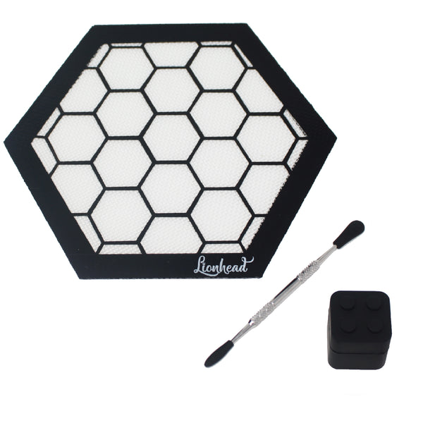 Dabbing Mat Bundle - Honeycomb