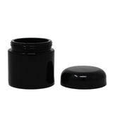 UV Glass Stash Jar - 100ml Black
