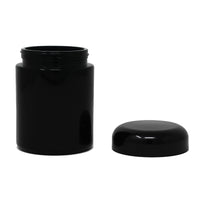 UV Glass Stash Jar - 250ml Black