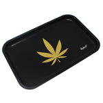 "Full Size Rolling Tray – 12"" x 8"" Tray – Black"
