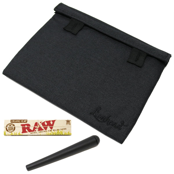 "Stash Bag Bundle – 8"" x 6"" Smell Proof Case – Black"