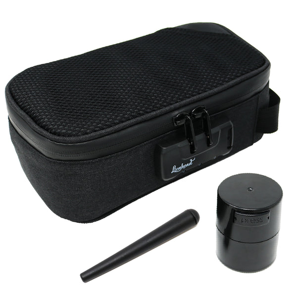 Stash Bag Bundle – Sidekick Smell Proof Case – Black