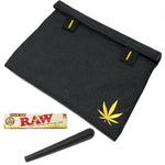"Stash Bag Bundle – 8"" x 6"" Smell Proof Case – Black Lionhead"