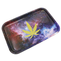 "Full Size Rolling Tray Bundle – 12"" x 8"" Tray – Galaxy"