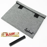 "Stash Bag Bundle – 8"" x 6"" Smell Proof Case – Grey"