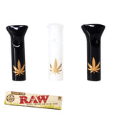 Glass Filter Tips Bundle - 3 Glass Tips + King Size RAW Rolling Papers