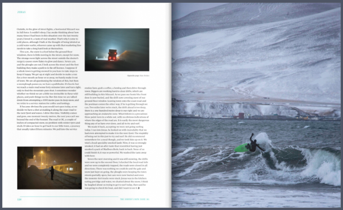 My Name Is Jonas - Extracts from an adventure to Iceland in issue 101