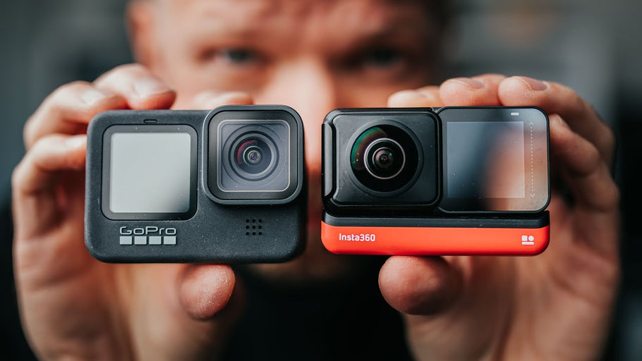 Surf Essentials Review 01 - GoPro 9 V Insta 360 One R