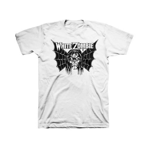 Spider Wing T-Shirt - White Zombie