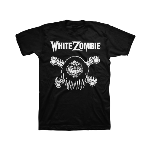 Monster Bones T-Shirt - White Zombie