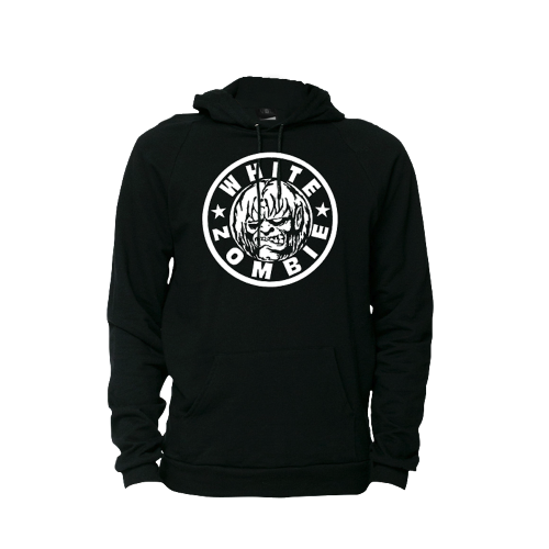 Classic Logo Pullover Hoodie - White Zombie