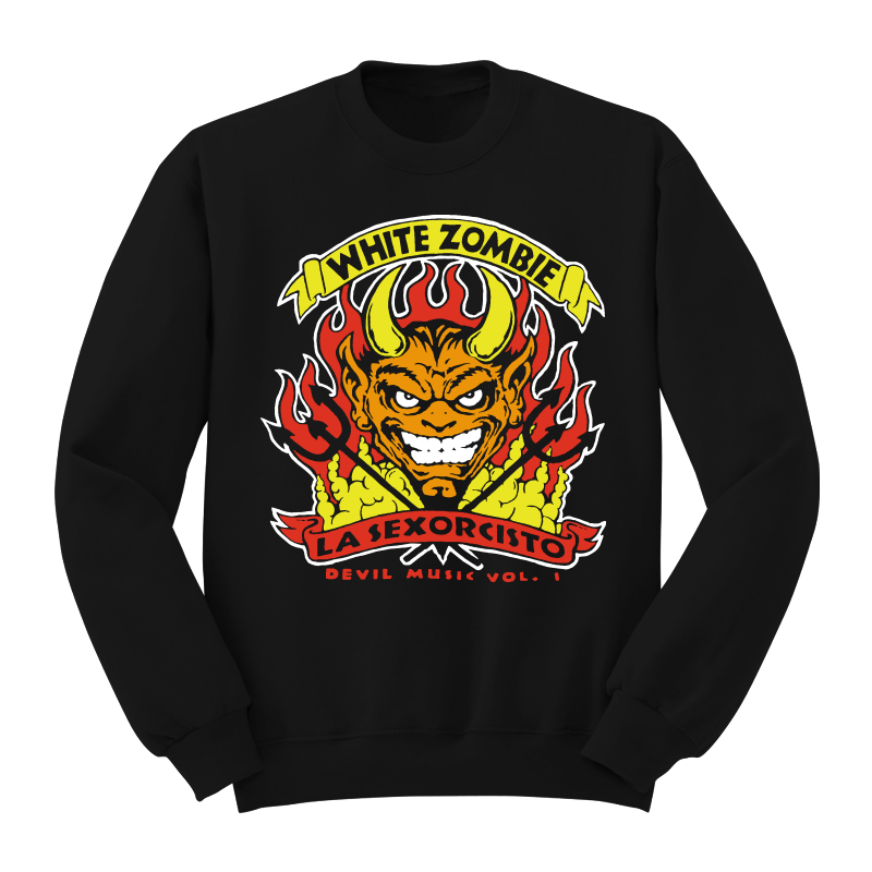 Devil's Music Crewneck - White Zombie