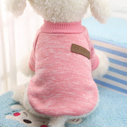 Pink Soft dog sweater