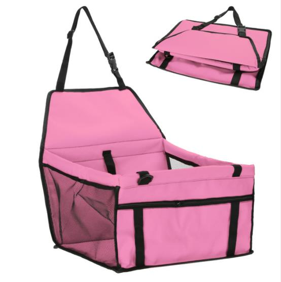 Pink dog carrier seat