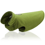 Green Reflective Dog Jacket Soft Fleece