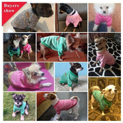 Pictures of dogs wearing the Soft dog sweater
