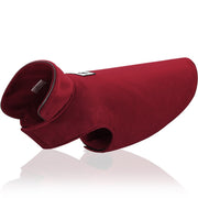 Red Reflective Dog Jacket Soft Fleece