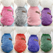 Soft dog sweater color collection
