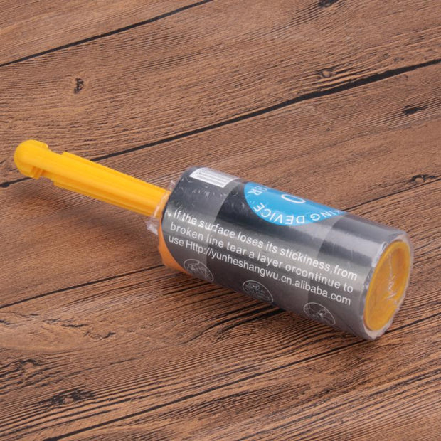 Sticky roller dog hair remover